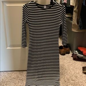 Old navy body con midi dress